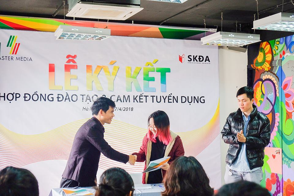 Master Media Academy cam kết tuyển dụng