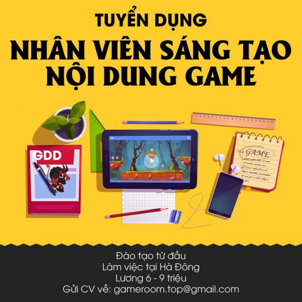 super game tuyển dụng