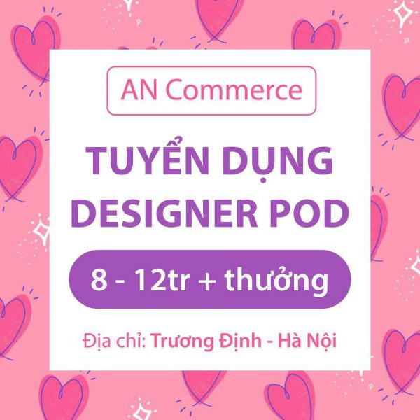 AN Commerce tuyển dụng