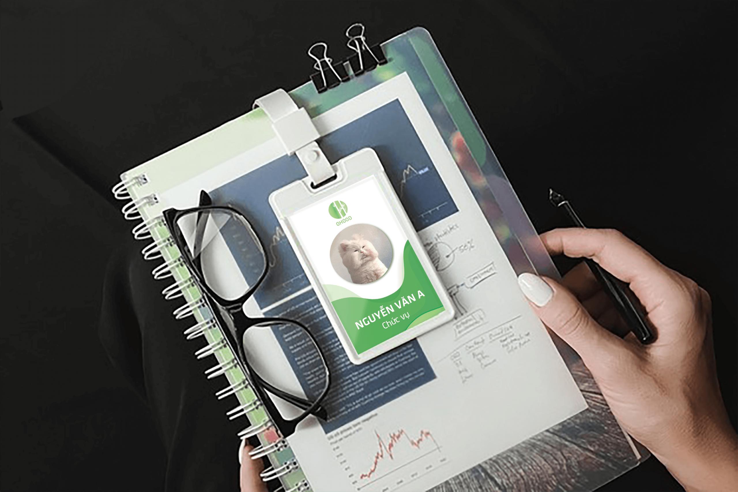 Ảnh thẻ nhân viên | Đồ án Master Media